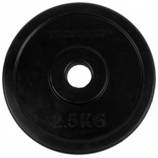 Gumuotas svoris 2.5kg 30mm