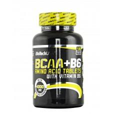 BIOTECH BCAA + B6 100 tab.