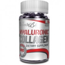 Biotech Hyaluronic & Collagen 30 kaps.