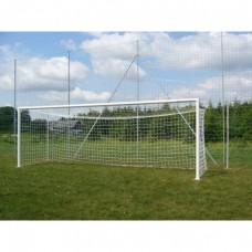 Standartiniai futbolo vartai (plieniniai, įbetonuojami) 7,32x2,44m