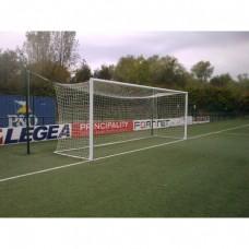 Standartiniai futbolo vartai (aliuminiai, įbetonuojami) 7,32x2,44cm