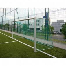 Sumažinti futbolo vartai (aliuminiai, mobilūs) 5x2m