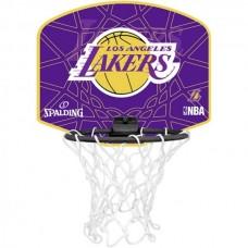 MINI KREPŠINIO LENTA SPALDING NBA L. A. LAKERS