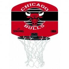 NAUJO DIZAINO MINI KREPŠINIO LENTA SPALDING NBA CHICAGO BULLS