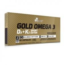 Olimp Gold Omega 3 D3 + K2 Sport Edition 60 kaps.