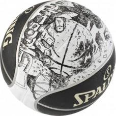 KREPŠINIO KAMUOLYS SPALDING NBA SKETCH SWOOSH