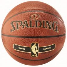 KREPŠINIO KAMUOLYS SPALDING NBA GOLD