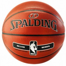 KREPŠINIO KAMUOLYS SPALDING NBA SILVER IN/OUT