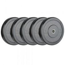Gumuotas svoris mėtymui 2,5-25 kg 51 mm