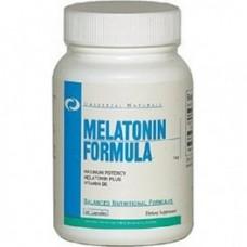 Universal Nutrition Melatonin Formula 60 kaps.
