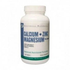 Universal Nutrition Calcium Zinc Magnesium 100 tab.