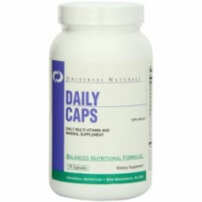 Universal Nutrition Daily Caps 75 kaps