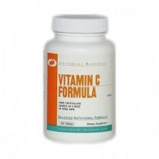 Universal Nutrition Vitamin C Formula 500mg 100 tab.